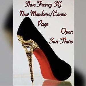 Shoes - 👠Shoe Frenzy SG New Members/Congo Page👠